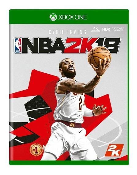 Nba 2k18 Xbox One Mídia Física Lacrado Novo Rj