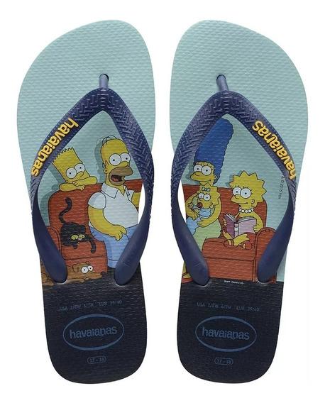 Chinelo Havaianas Simpsons 17 Tam. 37/38