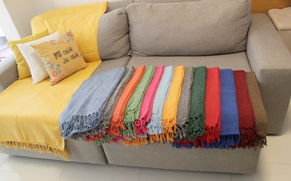 4 Manta Para Sofá Luxo Decorativa Protetora Frete Gratis