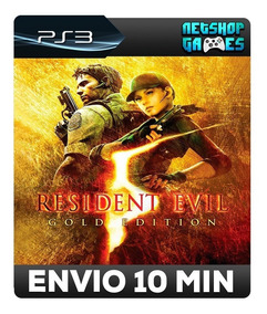 Resident Evil 5 Gold Edition - Psn Ps3 - Pronta Entrega