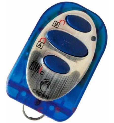 Imagem 1 de 1 de Controle Classic 433 Mhz Clonador 3bot Azul/pto