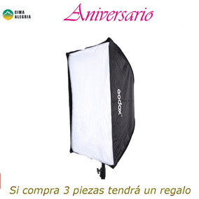 Godox Porttil 60 * 90cm / 24 * 35 Guarda-chuva Softbox Refl