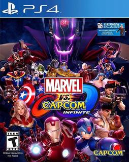 Marvel Vs Capcom Infinite Ps4 En Español Original Tenelo Hoy