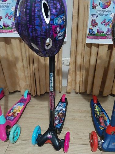 Escoter Hotwheels,barbie,princesas,avenger, Moster Original