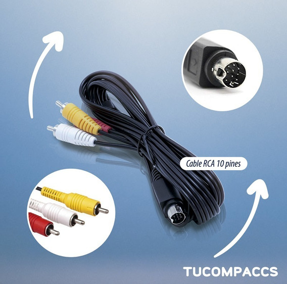 Cable Rca 10 Pin Deco L14 Direc-tv Deco L14