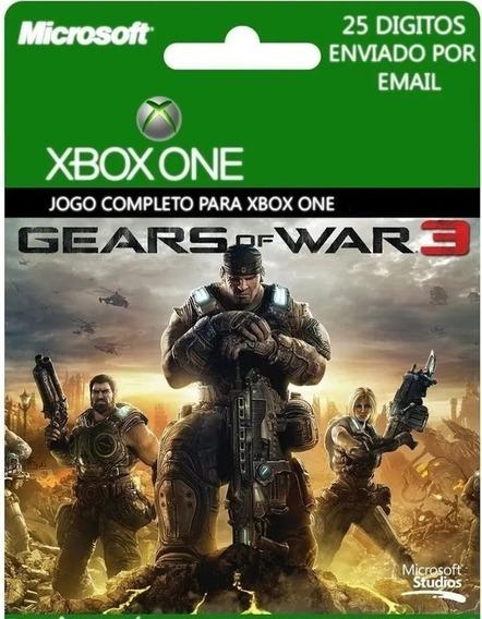 Gears Of War 3 Xbox One Código 25 Dígitos.