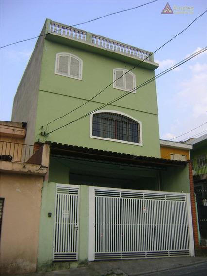 Sobrado Residencial À Venda, Vila Espanhola, São Paulo. - So0011
