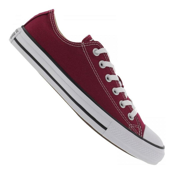 Tênis All Star Feminino Core Ct0001008 Converse Casual Bordô