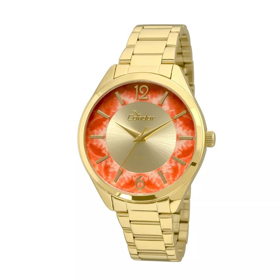 Relógio Condor Feminino Co2035krr/4l Dourado Original Novo