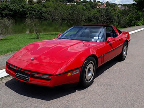 Chevrolet Corvette Targa 1984 - Placa Preta - Esportivo