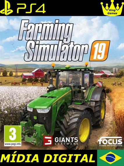 Farming Simulator 19 | Ps4 1 | Lançamento