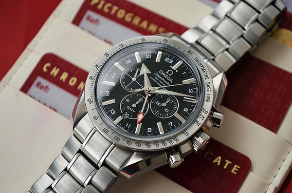Omega Speedmaster Broad Arrow Co-axial Gmt 44mm - Lindo