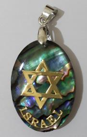 Pingente Estrela De Davi - Direito De Israel