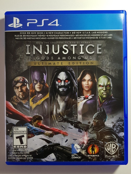 Injustice Gods Amoung Us Ps4