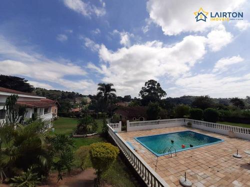 Chácara Com 3 Dormitórios À Venda, 4500 M² Por R$ 1.200.000,00 - Jardim Estância Brasil - Atibaia/sp - Ch1325