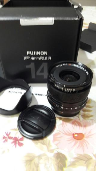 Lente Fujinon Xf 14mm 2.8