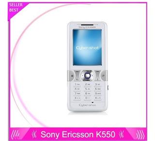 Sony Ericsson K550 Cybershot 2.0mp Branco - Mostruario