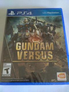 Gundam Versus Ps4 Fisico Nuevo Sellado Envio Gratis