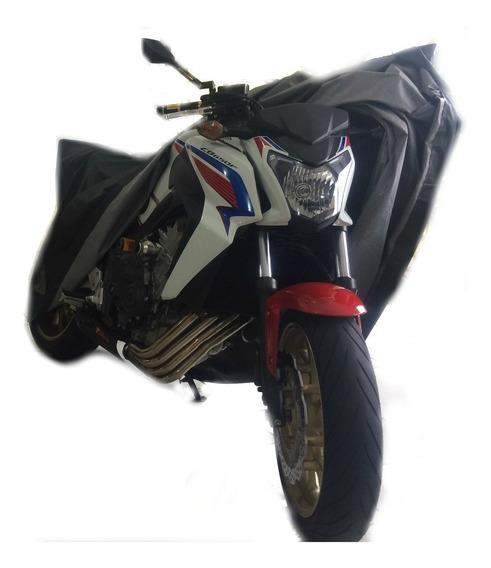Capa Para Moto Naked Lom Forrada Impermeável