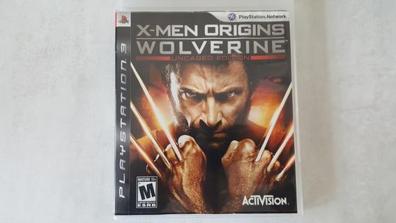 Jogo X Men Origins Wolverine - Ps3 - Original Midia Fisica