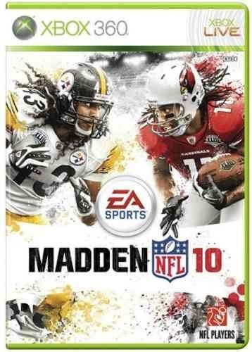 Madden Nfl 10 Xbox 360 Original Frete R$15