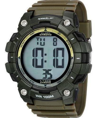 Relógio Speedo Digital Masculino Esportivo Militar 80644g0evnp2 Com Nota Fiscal E Garantia