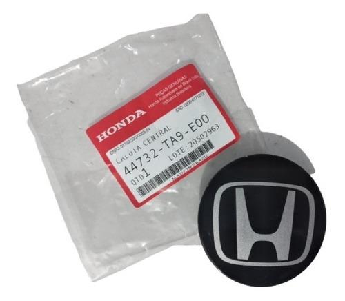 Calota Central Roda Preta Original Honda Hr-v 2016 Até 2020