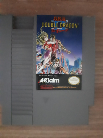 Double Dragon 2 - Nes Original