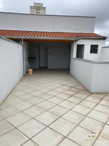 Cobertura À Venda, 130 M² Por R$ 340.000,00 - Vila Príncipe De Gales - Santo André/sp - Co0669