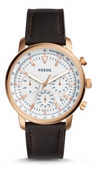 Fossil Goodwin Chrono Brown Leather Fs5415 ...... Dcmstore