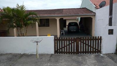 Casa Com Terreno À Venda, Balneário Luciane, Pontal Do Paraná - Ca0310. - Ca0310
