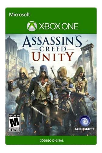 Assassins Creed Unity Xbox One Código Digital