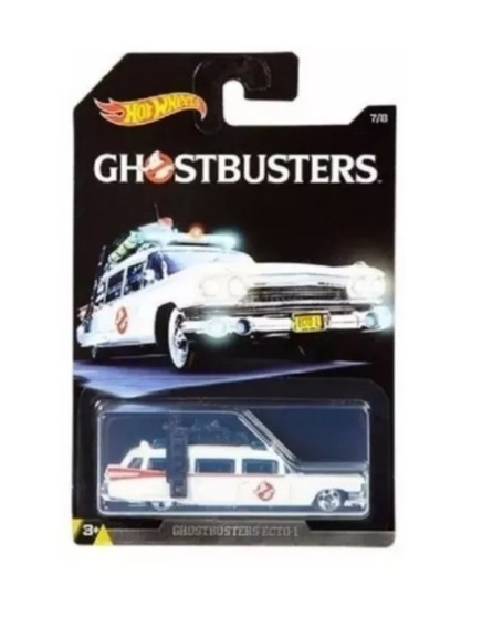 Hot Wheels Cazafantasmas Ecto Ghostbusters Solo Envios
