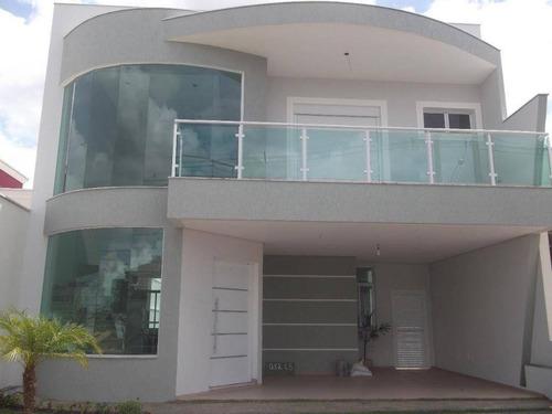 Imagem 1 de 21 de Casa Residencial À Venda, Condomínio Golden Park Alpha, Sorocaba. - Ca8176