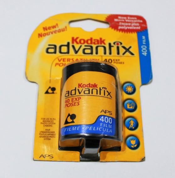 Filme Kodak Advantix Aps Câmera Antigo Lacrado Raro Iso 400