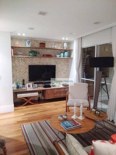 Lindo Apartamento Com 3 Dormitórios, Andar Alto, Vista Livre  À Venda, No Condomínio Parque Clube, 91 M² Por R$ 720.000 - Vila Augusta - Guarulhos/sp - Ap0152