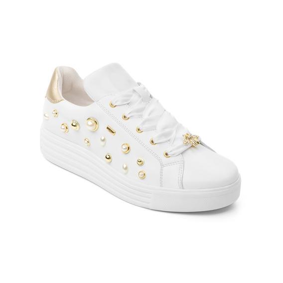 Sneaker Flexi Dama 36305 Blanco