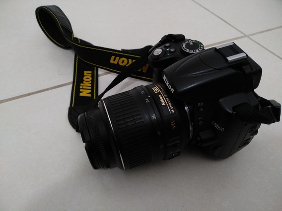Camera Nikon D5000 18x55mm C/ Bolsa