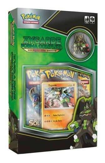 Card Game Pokemon - Zygarde Forma Completa - Coleção