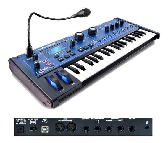 Sintetizador Mininova Synth, Novation