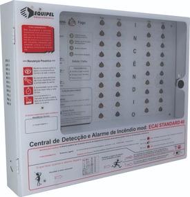 Usadas - Central Alarme Incêndio 40 Setores