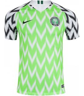Linda Camisa Da Nigéria 2018 Oficial Sucesso De Vendas