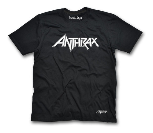 Camiseta Anthrax - Ropa De Rock Y Metal