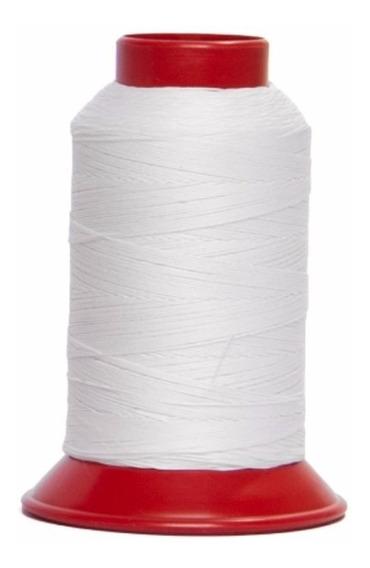 60 Tubos Linha 10 De Pipa, 500 Jardas Branca 100% Algodão