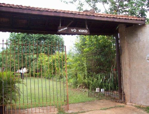 Chácara À Venda Em Parque Residencial Tancredi - Ch002364