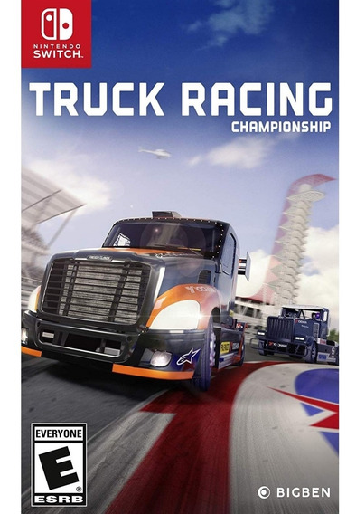 Truck Racing Championship Switch Mídia Física Novo Lacrado