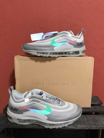 Sneakers Nike Air Max 97 Off White Menta Gris 1.1 Ua Concaja