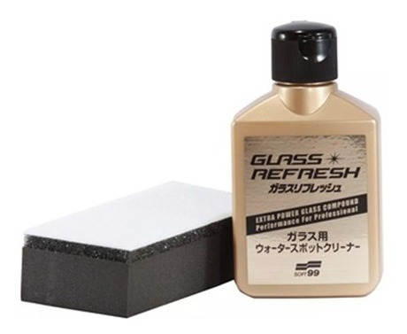 Removedor De Chuva Ácida Soft99 Glass Refresh 80ml
