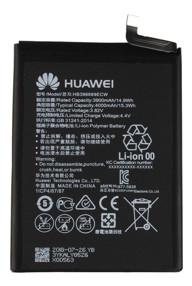 Bateria Huawei Hb396689ecw Mate 9 / Mate 9 Pro Original