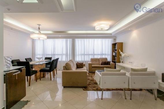 Apartamento Com 3 Dormitórios À Venda, 128 M² Por R$ 1.050.000 - Consolação - São Paulo/sp - Ap6008